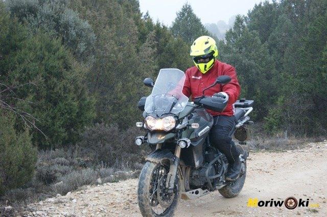 Triumph Explorer XC Moriwoki frente