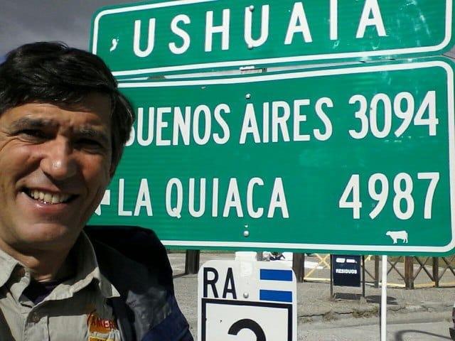 Gustavo Cuervo en el Extremo Sur de El Sur