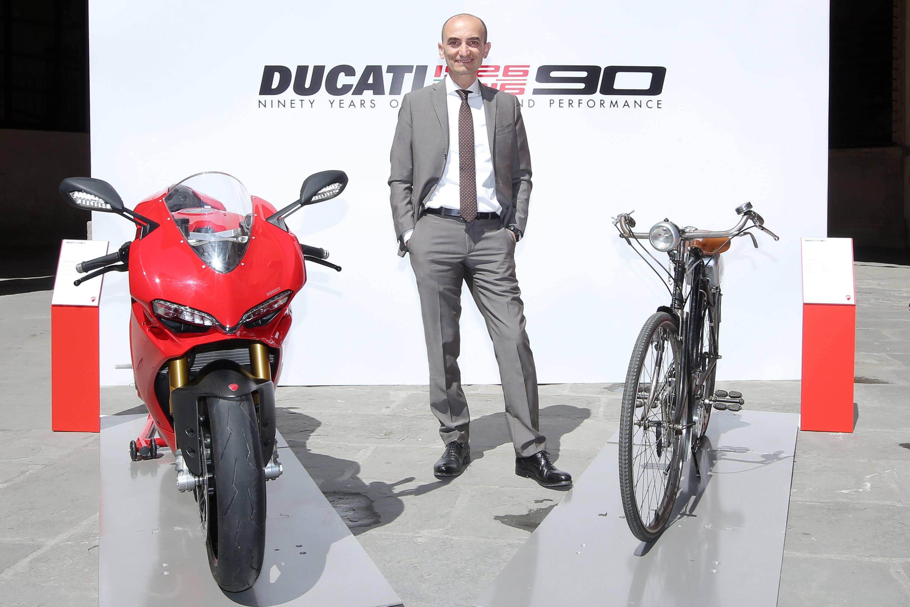 Ducati prepara su 90 Aniversario