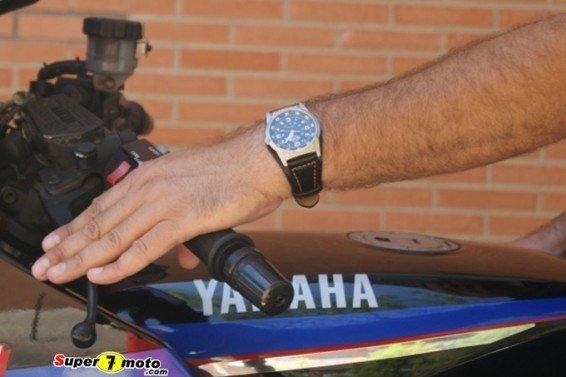 Posición motomano sin guante