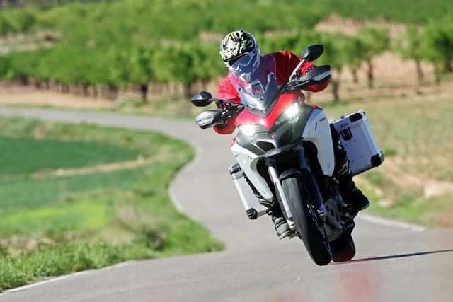 La Ducati Multistrada 1200 Enduro es una de las trail más cómodas.