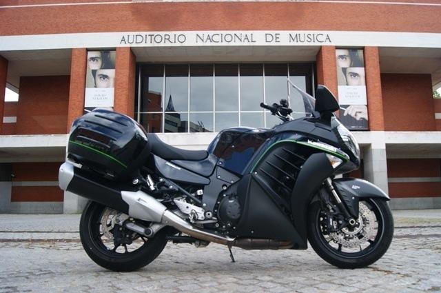 Las motos más cómodas y las más incómodas. Kawa GTR 1400.