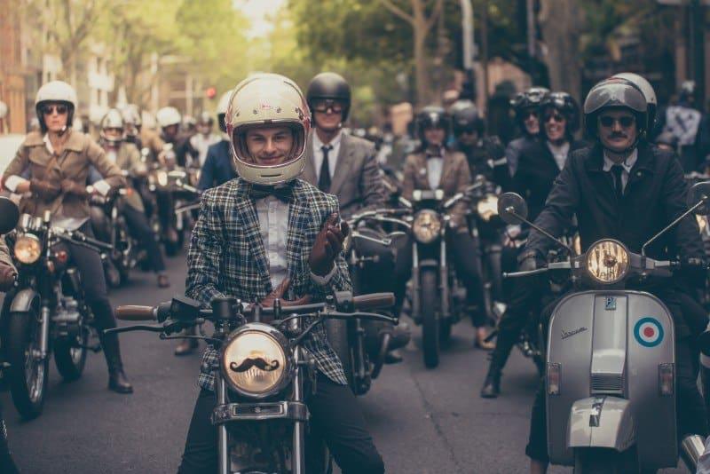 Distinguised Gentleman's Ride 2016 desfile