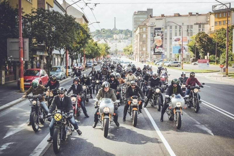 Distinguised Gentleman's Ride 2016 panorama