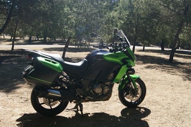 Kawasaki Versys 1000 perfil izquierdo