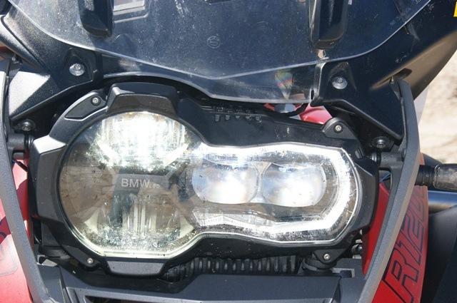 BMW R 1200 GS Adventure Detalle luz