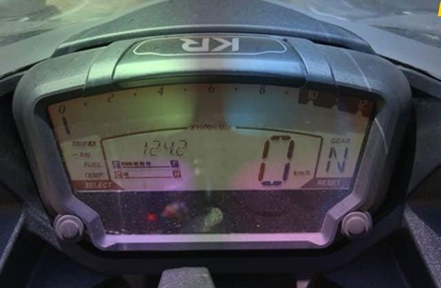 Hyosung GD 250 R Display