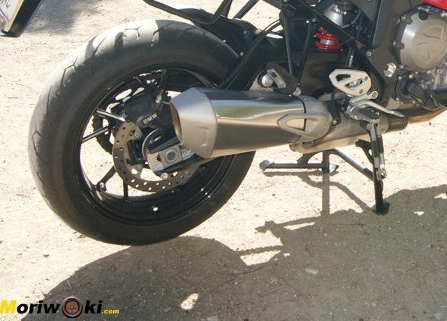 BMW S1000XR prueba a fondo amortiguador