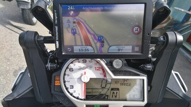 BMW S1000XR prueba a fondo instrumentacion