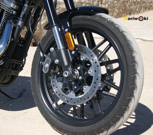Harley Davidson sportster roadster freno delantero
