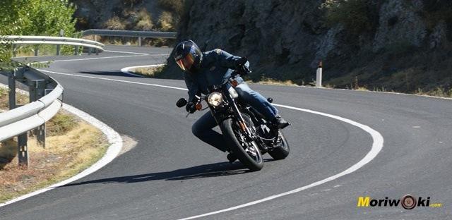 Harley Davidson sportster roadster giro