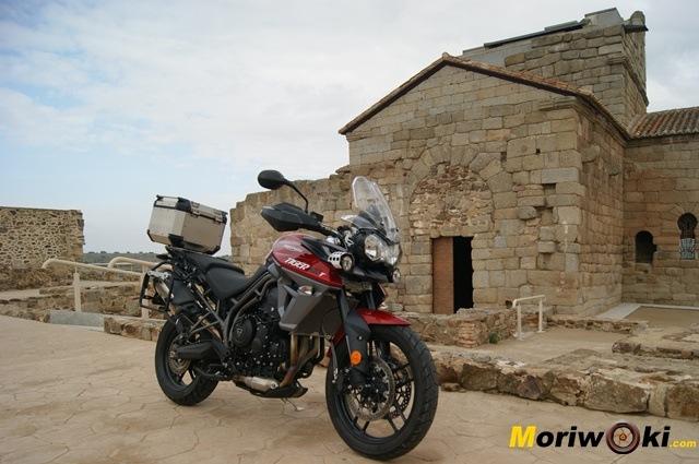 Triumph Tiger 800 XRT ermita