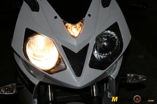 Daelim roadwin 125 r luz