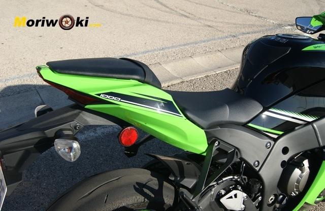 Kawasaki ZX10 2 plazas