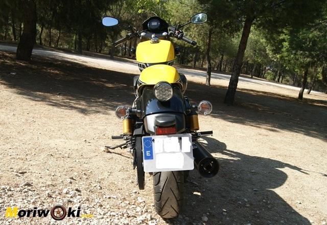 Yamaha XV Racer 950 60 Aniversario detras