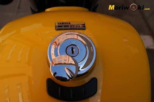 Yamaha XV 950 60 Aniversario depósito