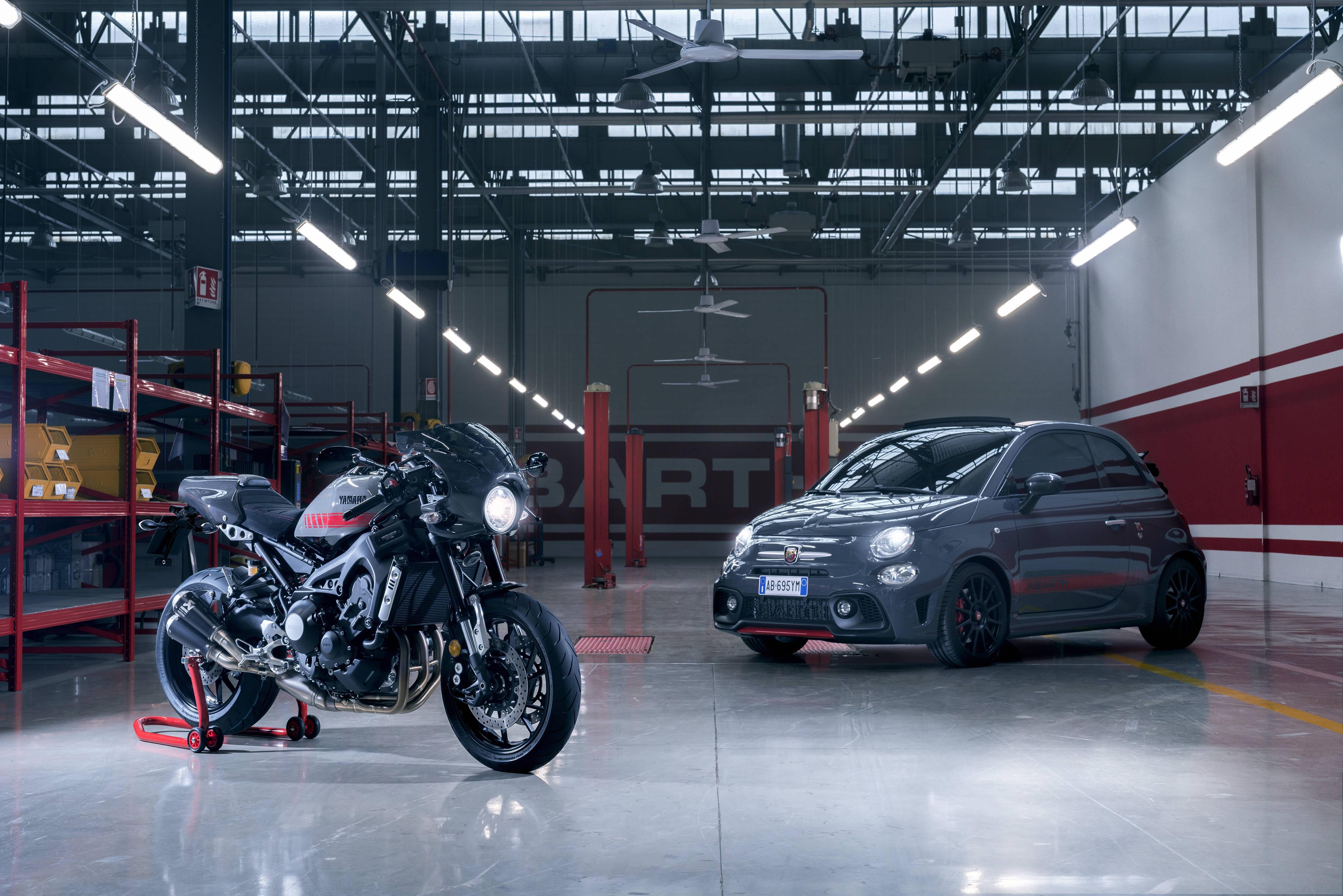 La nueva Yamaha XSR900 Abarth