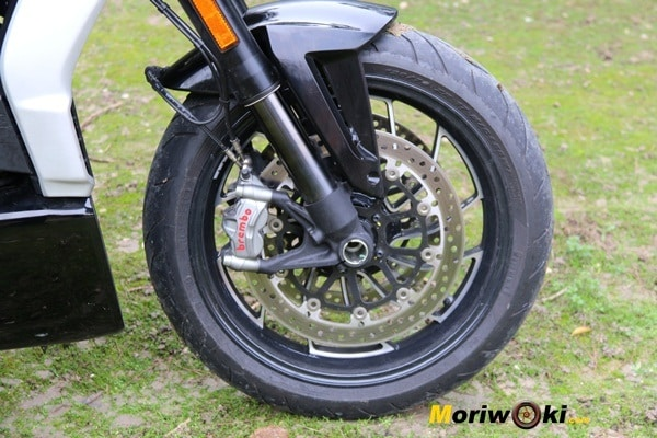 Ducati XDiavel 2016 frenos