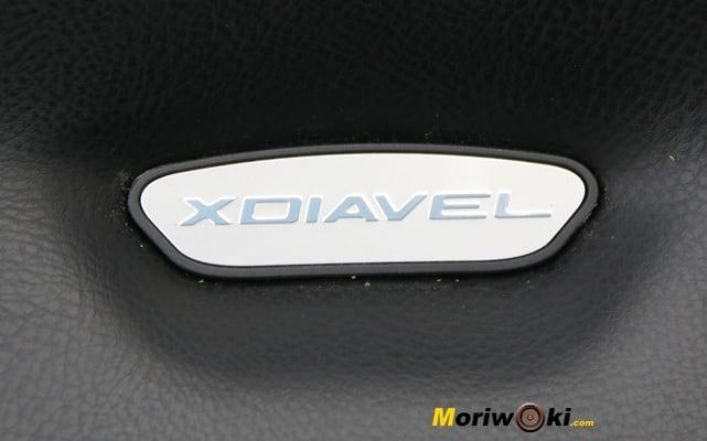 Ducati XDiavel 2016 placa asiento