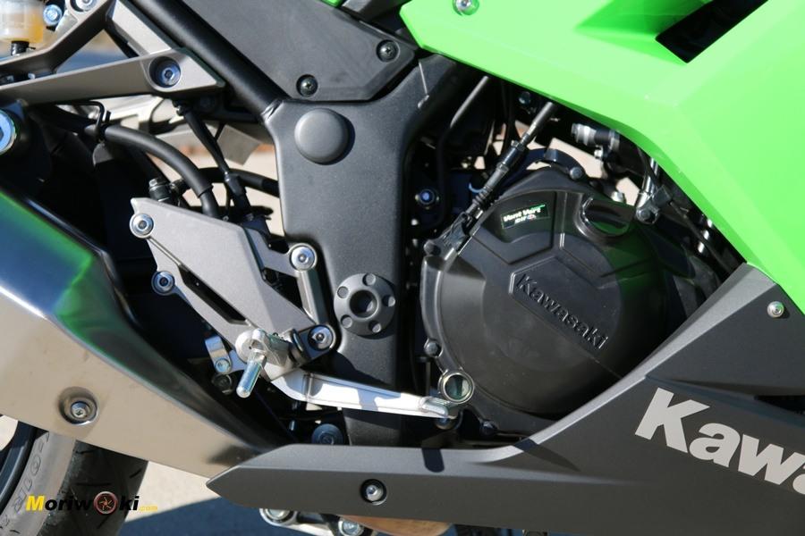 kawasaki ninja 300 motor