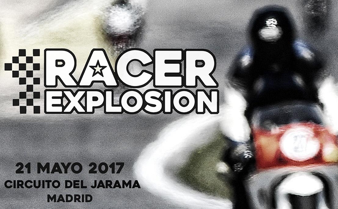Racer explosion anuncio cartel