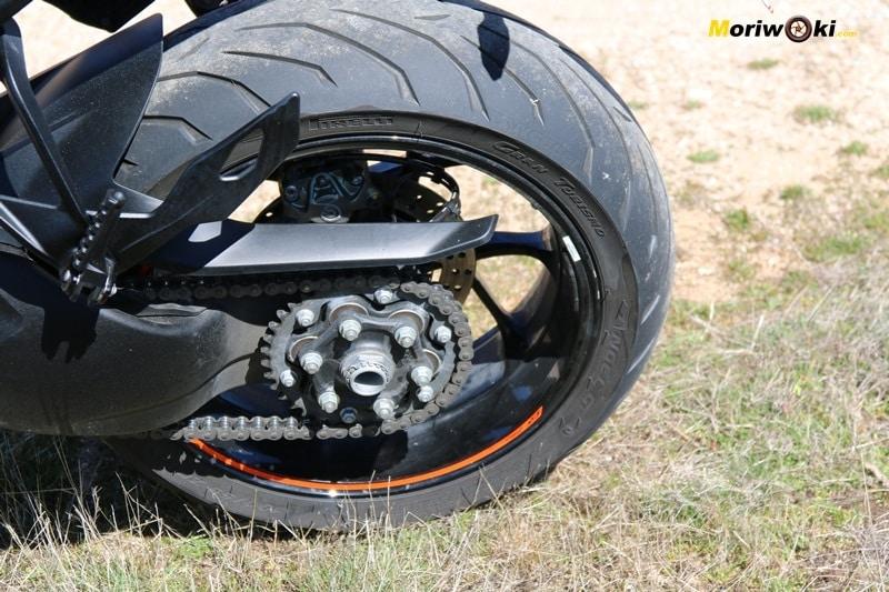 KTM Super Duke 1290 GT Rueda Trasera
