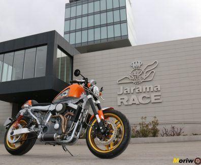 Harley en El Jarama 1