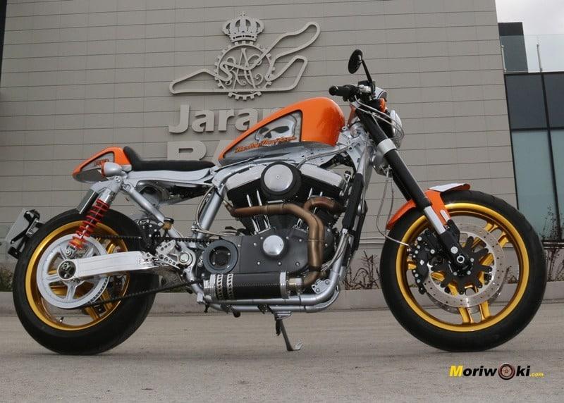 Harley en El Jarama 2