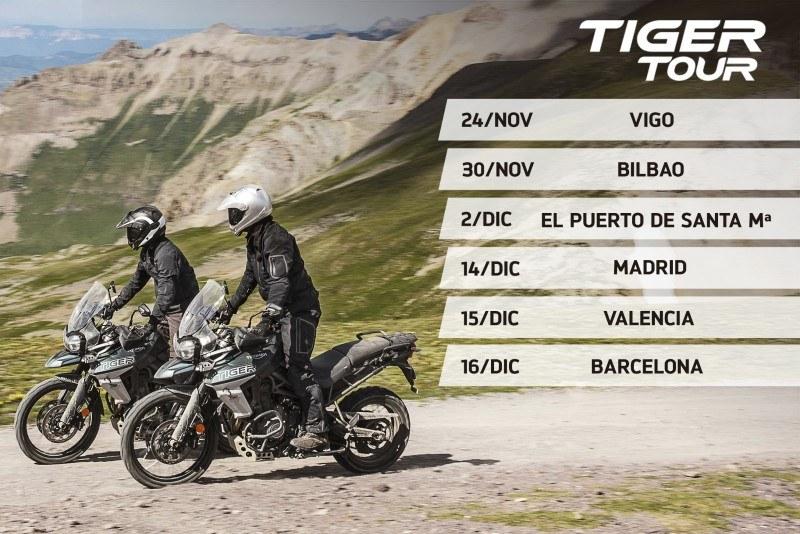 Tiger tour Fechas-TIGERTOUR