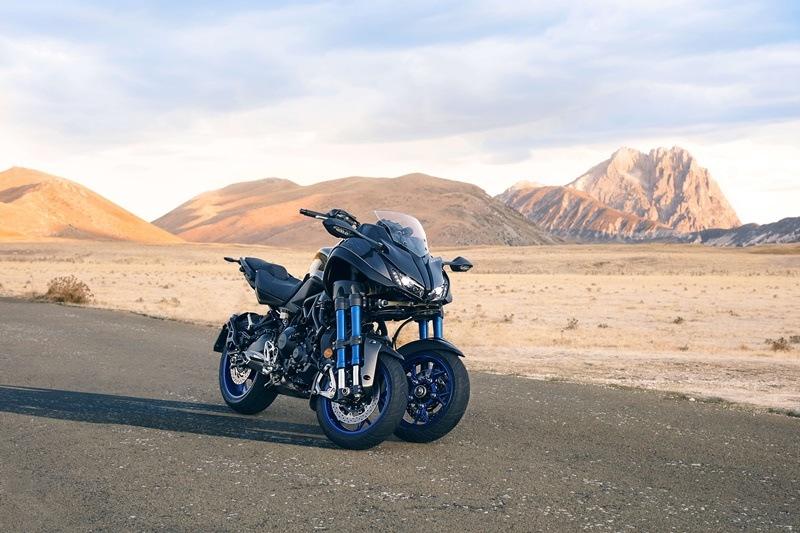 Detalles de la sorprendente Yamaha Niken