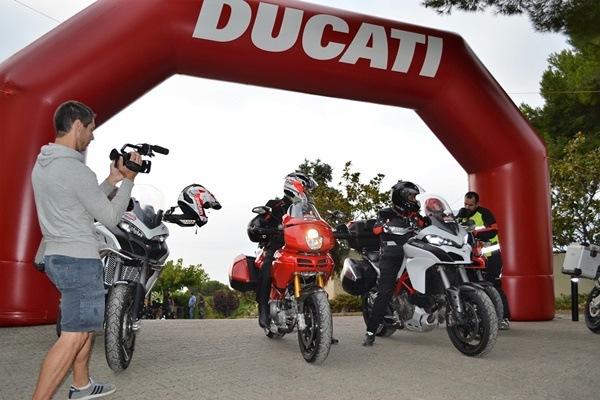 Ya está en marcha la ruta Dos Mares, promovida por Ducati