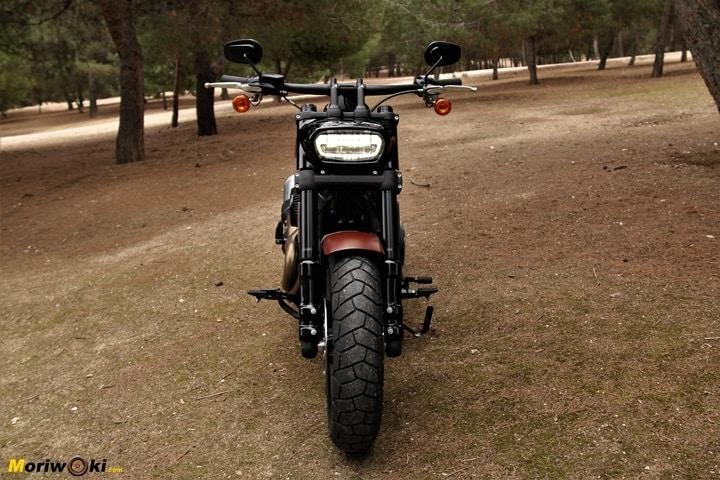 la Harley Fat Bob, una custom muy cómoda