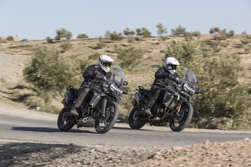 Triumph anuncia la llegada de sus nuevas Tiger 800 a España