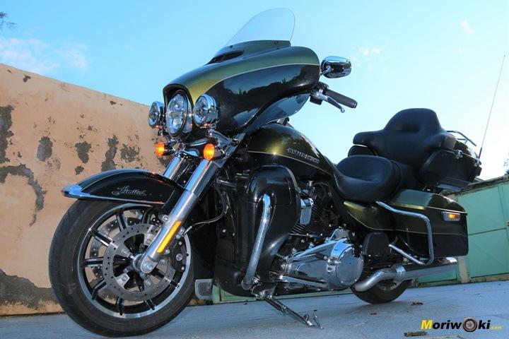 Harley Ultra limited presencia
