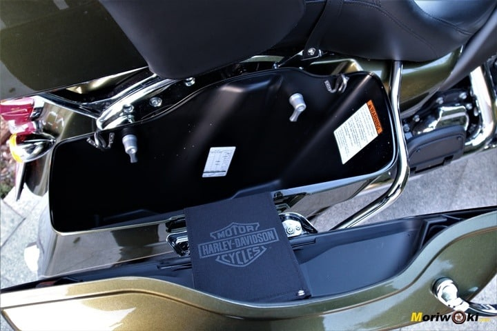 Harley Ultra limited interior maleta