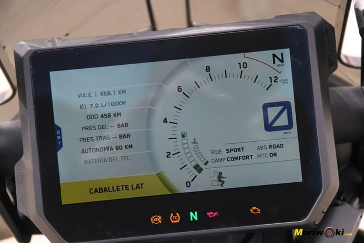 Prueba KTM 1290 Super Adventure tft