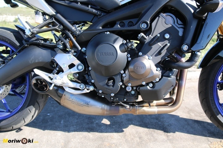 Prueba Yamaha MT-09 SP motor