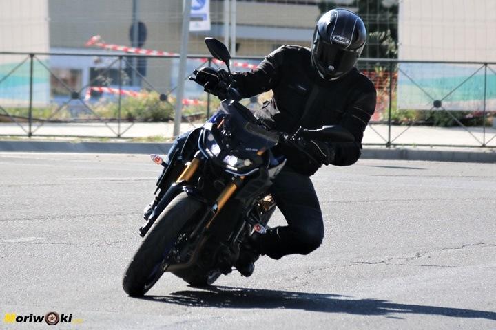 Prueba Yamaha MT-09 SP acción