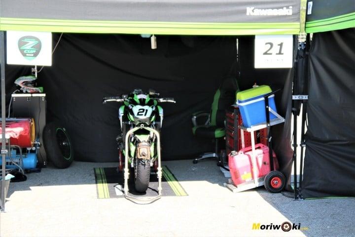 European-Kawasaki-Z-Cup-2018-Montmeló. Box