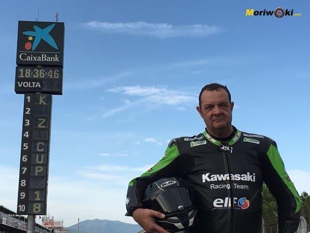 European-Kawasaki-Z-Cup-2018-Montmeló. En la recta 1