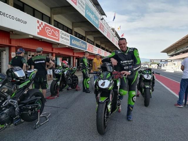 European Kawasaki Z Cup Montmeló clasificación conseguida