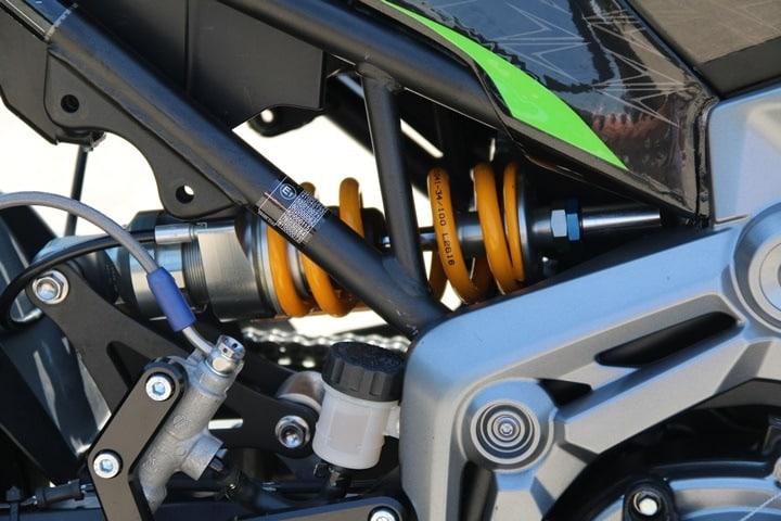 European Kawasaki Z Cup moriwoki ohlins