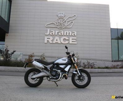 Prueba Ducati Scrambler 1100