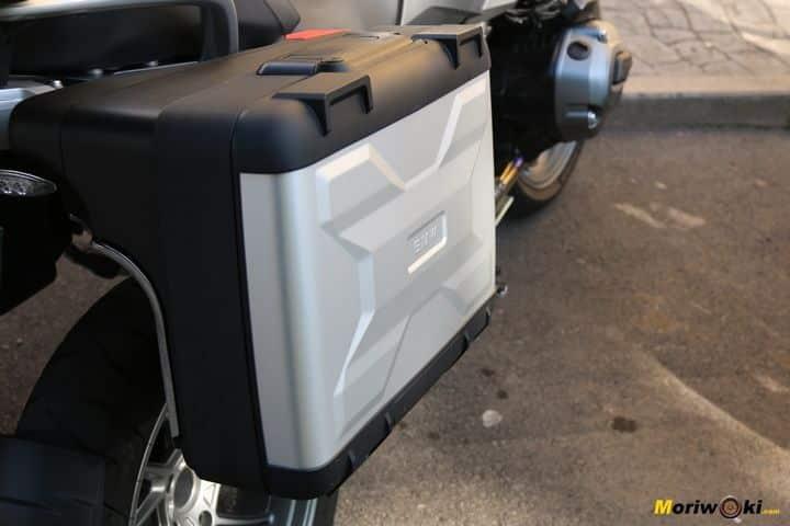 BMW R1200GS prueba maleta