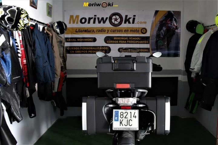 BMW R1200GS prueba maletas