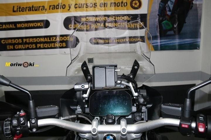 BMW R1200GS prueba pantalla baja
