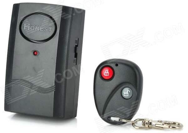 alarma con mando a distancia