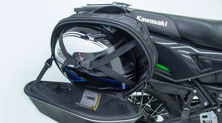 alforjas para cascos de motos