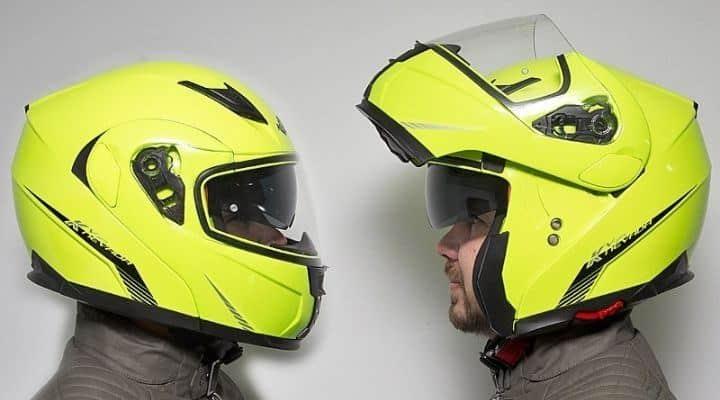 casco modular abatible