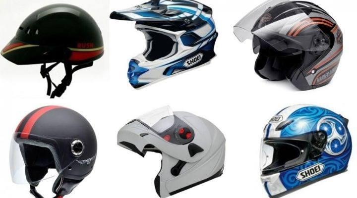 tipos de cascos para motos
